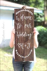personalized wooden wedding signs best 25 rustic wedding signs ideas on country wedding