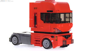 minecraft semi truck custom lego near future cabover semi truck moc
