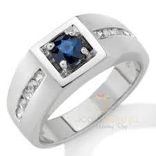 model cincin blue safir cincin kawin zubar perak single blue safir cincin kawin madina