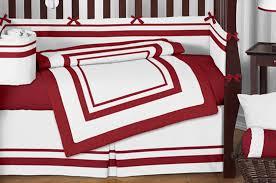 red crib bedding sets for girls home inspirations design