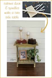 Cute Cabinet Cabinet Door Table Easy Build My Repurposed Life