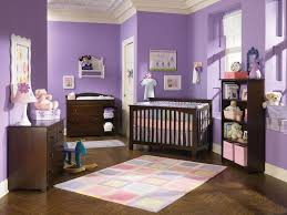 Purple Curtains For Nursery by Baby Nursery Baby Nursery Ideas Features White Crib With Soft