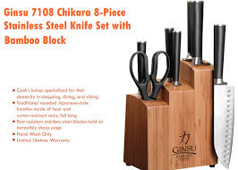 best kitchen knives block set best kitchen knives reviews 2017 top kitchen knife reviews