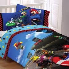 Super Mario Bedroom Decor Super Mario Bros Bedding For Kids By Nintendo