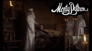 sir galahad in castle anthrax monty python and the holy grail
