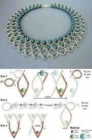 necklace beads diy images Best seed bead jewelry 2017 free beading pattern for pearl jpg