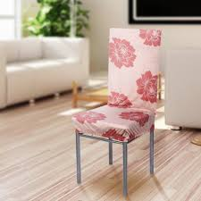 elastic chair cover for wedding dining room party 6pcs washable