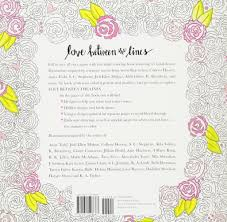 love between the lines an coloring book for book lovers