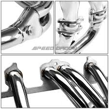 jeep metal art for 91 99 jeep wrangler cherokee stainless steel header exhaust