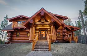 Interior Log Home Pictures by Custom Log Homes Picture Gallery Bc Canada