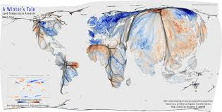 World Temperature Map October by A Cold World Views Of The World