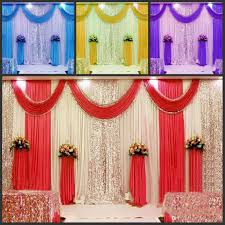 wedding backdrop uk new arrival 3m 6m wedding backdrop swag party curtain celebration