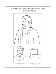 coloring pages for nursery lds nursery manual page 107 i belong to the church of jesus christ of