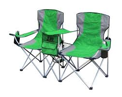 amazon com gigatent side by side chair blue camping chairs