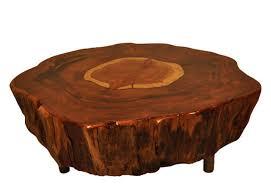 Tree Stump Side Table Reclaimed Wood Tables And Salvaged Furniture Tree Stump Side Table