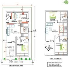Home Design 30 X 60 40 X 60 East Facing Duplex House Plans Arts 30 With Car Parking