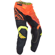 fly racing motocross gear fly racing new mx kinetic mesh trifecta fluro orange black