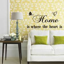 online shop rainbow fox simple word wall decal home is the where online shop rainbow fox simple word wall decal home is the where the heart is quote wall stickers for family home wallpaper letter decal aliexpress mobile