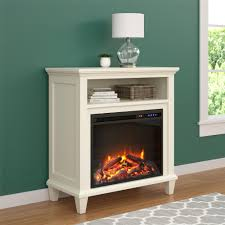 ameriwood furniture ellington electric fireplace accent table tv