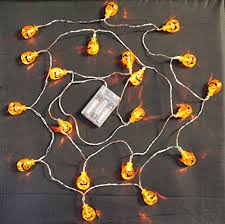 20 led 3d pumpkin lights battery operated battery