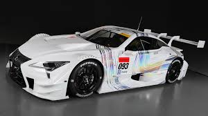 lexus 2017 lc500 sharp edged 2017 lexus lc 500 ready to race in japan
