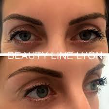 tatouage sourcils poil par poil beauty line dermo academy formations maquillage permanent à lyon