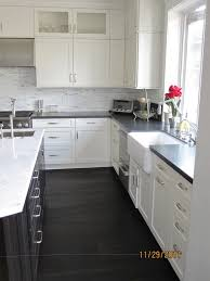 White Kitchen Black Island 38 Best White Kitchens Images On Pinterest Dream Kitchens