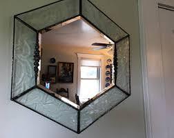 Home Decor Mirrors Bevel Wall Mirror Etsy
