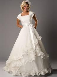 modest wedding dress rikof com
