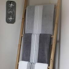 fabricant serviette de plage serviette de bain grand hôtel gris lapin inversé créations jean vier