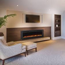 Wall Mount Electric Fireplace Napoleon 60 In Allure Phantom Wall Mount Electric Fireplace