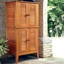outdoor metal storage cabinets with doors patio storage cabinet outdoor wood storage cabinets with doors