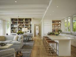 contemporary open floor plans extraordinary open floor plan kitchen and living room for interior