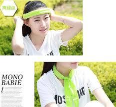 cooling headband sports active cooling headband scarf cooler men women