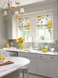 Shabby Chic Kitchen Blinds 3 Kitchen Window Treatment Types And 23 Ideas Shelterness