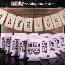 wedding koozie favors shop custom wedding koozies captivating wedding koozie favors