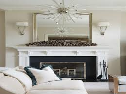 mirrors beveled mirror over fireplace design ideas mirror over