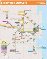 Miami Train Map by Sydney Map Maps Sydney Australia