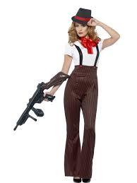 halloween 1920s costumes glam gangster moll costume 1920 u0027s razzle pinstripe mafia braces