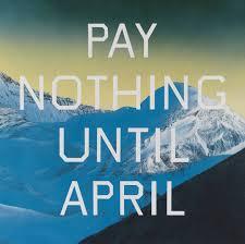 2003 Pay Nothing Until April U0027 Edward Ruscha 2003 Tate