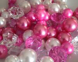 diamonds and pearls baby shower 8mm pearls no vase filler pearls table