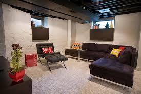 basement paint ideas stunning fancy unfinished basement ideas low