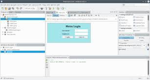 how to create login menu using java netbeans 8 1