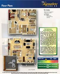 Colored Floor Plans by Olthof Homes House Plans U0026 Floor Plans For Cordera In The Gates