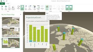 Go To My Maps Project Server U0026 Online Behind The Scene My First Power Map Tour