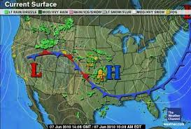 weather fronts map fronts climate education modules for k 12
