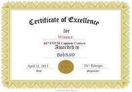 9 best images of certificate award winner winner award