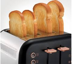 Morphy Richards Accents Toaster Review Buy Morphy Richards Accents 242104 4 Slice Toaster Black U0026 Rose