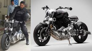 hellcat x132 dhoni ms dhoni s hellcat bike ms dhoni s bike collection gq india