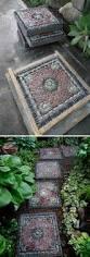 30 creative pathway walkway ideas for your garden designs hative diy pebble mosaic stepping stones pathway